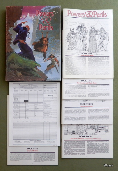 Image for Powers & Perils: Fantasy Role Playing Game