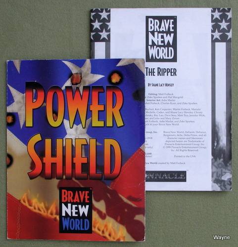 Image for Power Shield: Brave New World