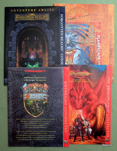 Image for Advanced Dungeons & Dragons (AD&D) Game World Conspectus Collection