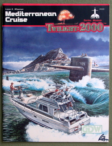 Image for Mediterranean Cruise (Twilight: 2000)