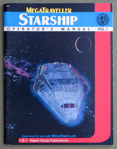 Image for Starship Operator's Manual, Vol. 1 (Megatraveller)