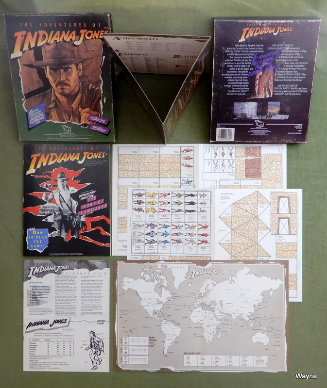 Image for The Adventures of Indiana Jones (Role Playing Game)