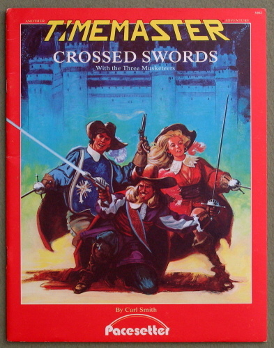 Image for Crossed Swords: With the Three Musketeers (Timemaster)