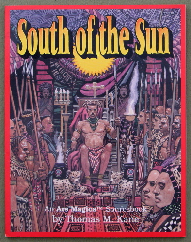 Image for South of the Sun: An Ars Magica Sourcebook