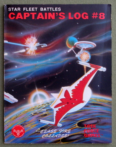 Image for Captain's Log #8 (Star Fleet Battles)