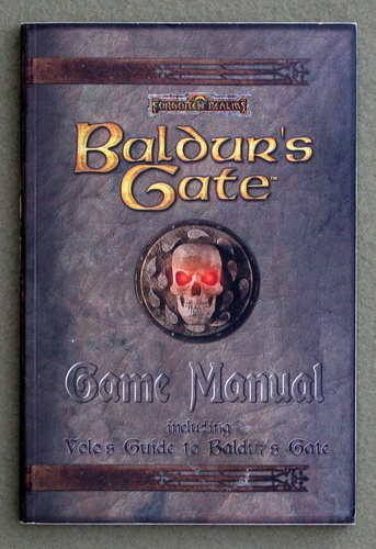 Image for Baldur's Gate Game Manual Including Volo's Guide To Baldur's Gate