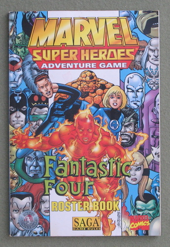 Image for The Fantastic Four Roster Book (Marvel Super Heroes) - PLAY COPY