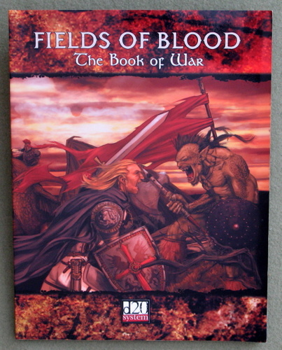 Image for Fields of Blood: Book of War (D20 system)