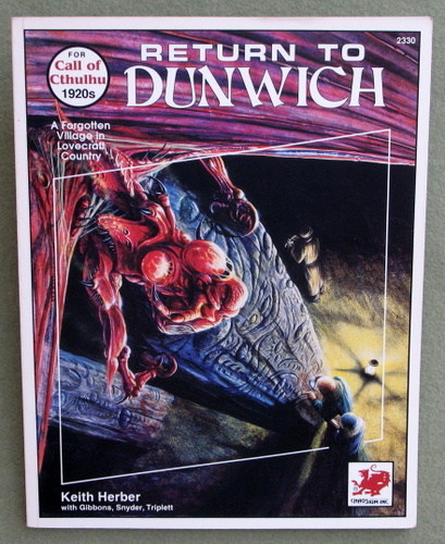 Image for Return to Dunwich: Unearthing Ancient Horrors in Rural New England (Call of Cthulhu)