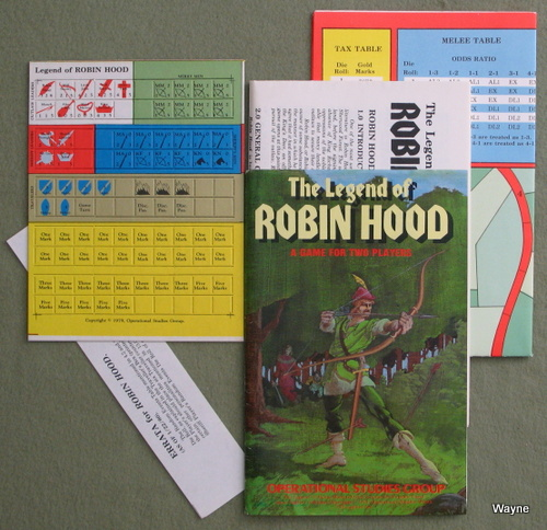 Image for The Legend of Robin Hood: A Game for Two Players
