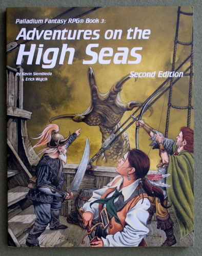 Image for Adventures on the High Seas, Second Edition (Palladium Fantasy RPG Book 3)