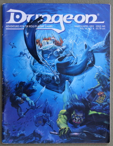 Image for Dungeon Magazine, Issue 40
