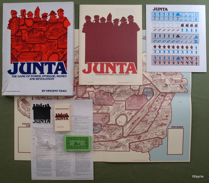 Image for Junta: The Game of Power, Intrigue, Money and Revolution