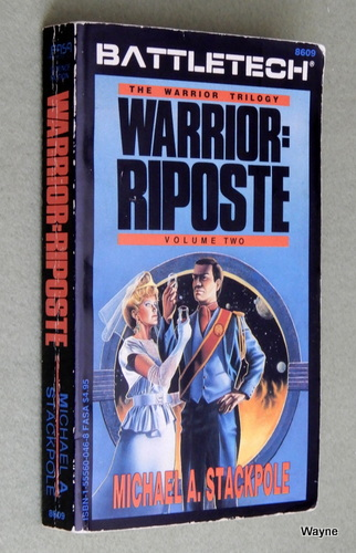 Image for Warrior: Riposte (Battletech: Warrior Trilogy, Volume 2)