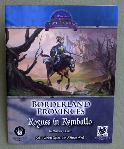 Image for Borderland Provinces: Rogues in Remballo (Fifth Edition Compatible)