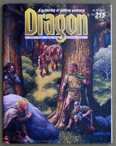 Image for Dragon Magazine, Issue 215