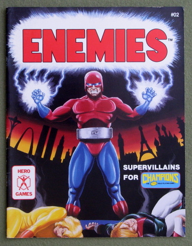 Image for Enemies: Supervillains for Champions
