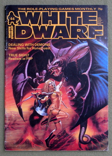 Image for White Dwarf Magazine, Issue 44