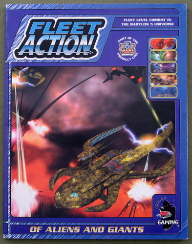 Image for Fleet Action: Of Aliens and Giants (Babylon 5 Wars)
