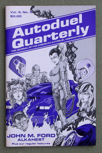 Image for Autoduel Quarterly: Vol. 3, No. 3 (Car Wars)