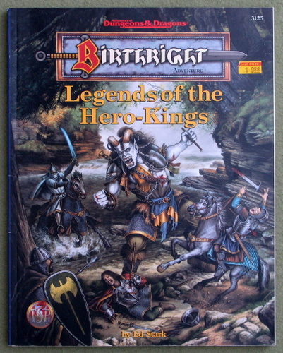 Image for Legends of the Hero-Kings (Advanced Dungeons & Dragons: Birthright)