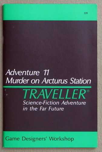 Image for Traveller Adventure 11: Murder on Arcturus Station - 1ST PRINT