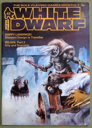 Image for White Dwarf Magazine, Issue 43