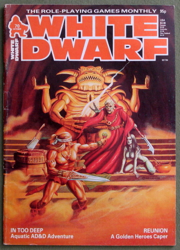 Image for White Dwarf Magazine, Issue 70