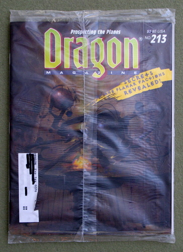 Image for Dragon Magazine, Issue 213