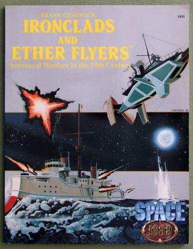 Image for Ironclads & Ether Flyers: Aeronaval Combat for Space 1889