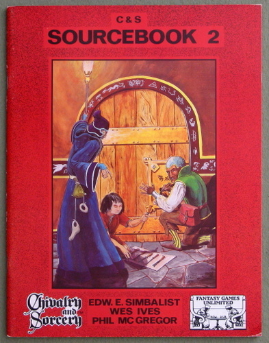 Image for Chivalry & Sorcery Sourcebook 2 (2nd Edition)
