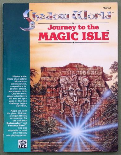 Image for Journey to the Magic Isle (Shadow World Exotic Fantasy Role Playing)