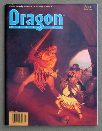 Image for Dragon Magazine, Issue 141