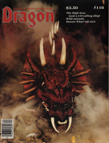 Image for Dragon Magazine, Issue 116