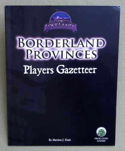 Image for Borderland Provinces: Players Gazetteer (The Lost Lands)