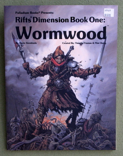 Image for Rifts Dimension Book 1: Wormwood
