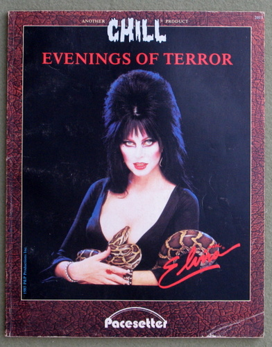 Image for Evenings of Terror (Chill RPG) - PLAY COPY
