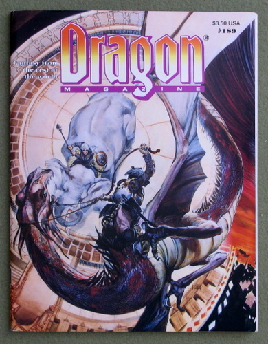 Image for Dragon Magazine, Issue 189