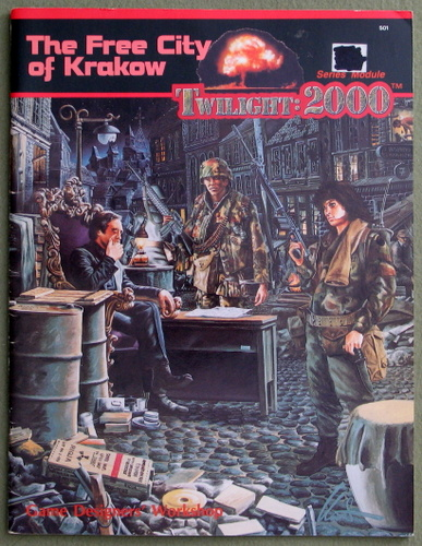 Image for The Free City of Krakow (Twilight: 2000)