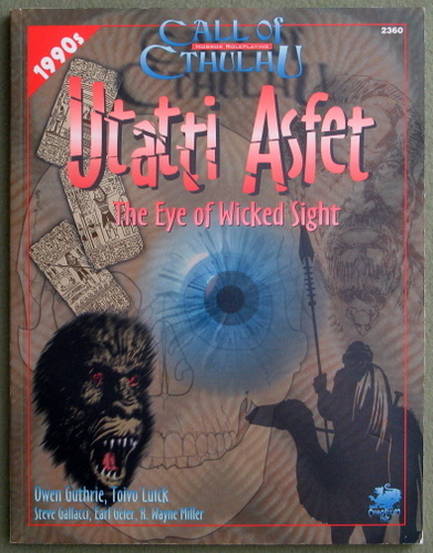 Image for Utatti Asfet: The Eye of Wicked Sight (Call of Cthulhu)
