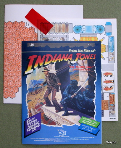 Image for The Fourth (4th) Nail (Adventures of Indiana Jones Module IJ6)