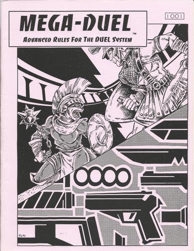 Image for Mega-Duel (Advanced Rules for the DUEL System)
