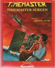 "Image for Timemaster RPG Screen (Featuring ""Missing: PT 109"")"