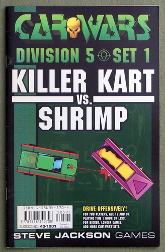 Image for Car Wars Division 5 Set 1: Killer Kart vs. Shrimp