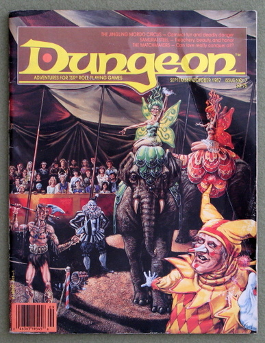 Image for Dungeon Magazine, Issue 7