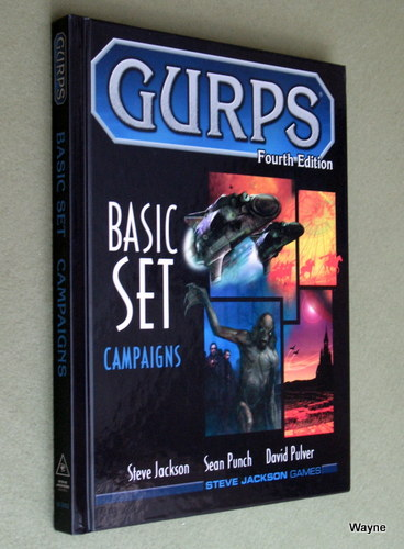 Image for GURPS Basic Set: Campaigns (4th Edition)