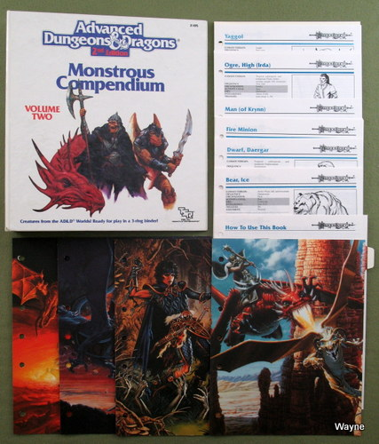 Image for Monstrous Compendium, Volume 2: Dragonlance Appendix (Advanced Dungeons and Dragons)