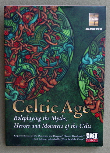 Image for Celtic Age: Role-Playing the Myths, Heroes & Monsters of the Celts (d20 Fantasy Roleplaying)