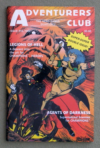 Image for Adventurers Club: The Hero Games Quarterly, Issue 13