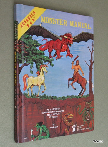 Image for Monster Manual (Advanced Dungeons & Dragons, 1st Edition)